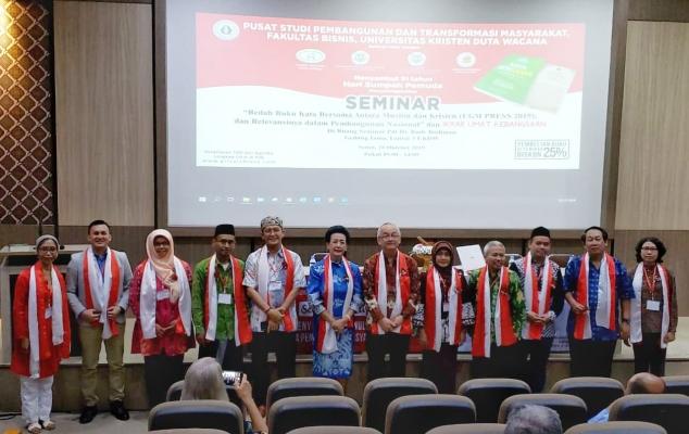 Bedah Buku Kata Bersama Antara Muslim dan Kristen di UKDW Yogyakarta