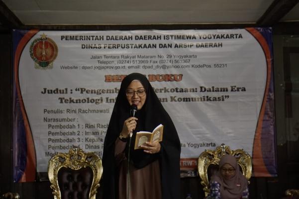 Book Discussion on Urban Development Appreciated by Yogyakartanese