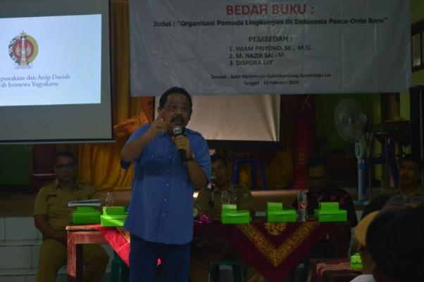 """Book Discussion : """"ORGANISASI PEMUDA LINGKUNGAN DI INDONESIA PASCA-ORDE BARU"""""""