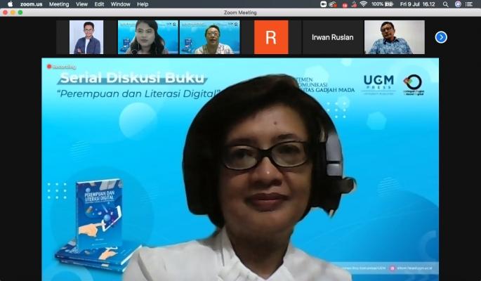 """Diskusi """"Perempuan dalam Revolusi Digital: Peta Permasalahan & Urgensi Digital"""""""