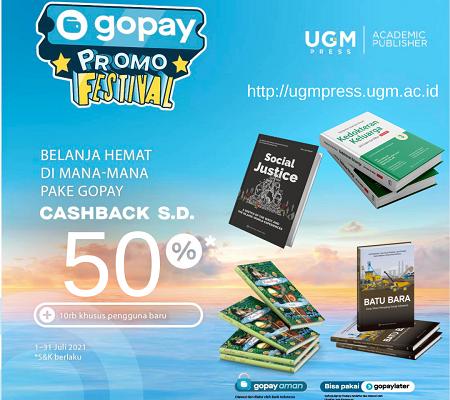 Beli Buku UGM Press Bayar Pakai gopay  Dapat Cashback