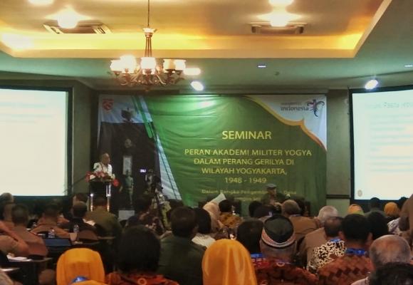 """UGM Press Introduces Its Book """"Akademi Militer Yogyakarta: dalam Perjuangan Fisik 1945-1949"""""""