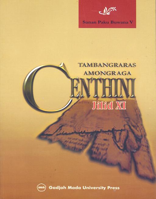 Centhini Tambangraras-Amongraga Jilid XI