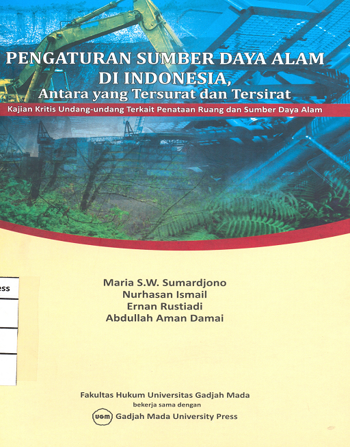 Pengaturan Sumber Daya Alam di Indonesia…
